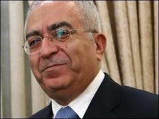 Ông Fayyad sẽ chính thức từ chức khi chính phủ thống nhất quốc gia được thành lập