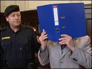 Josef Fritzl no tribunal