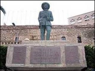 Estátua de Francisco Franco (foto: Ministério da Cultura da Espanha)
