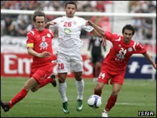 عکس از روح الله وحدتی برای ایسنا - از بازی پرسپولیس و الشباب