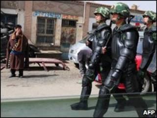 Soldados chinos, archivo