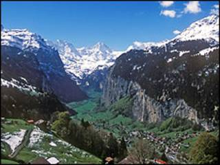 Alpes suíços (arquivo)