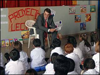 Aula de Proyecto Lectura (Foto: gentileza de portal ABC)
