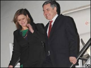 Vợ chồng Thủ tướng Gordon Brown