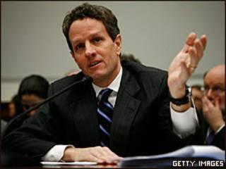 Timothy Geithner, secretário do Tesouro dos EUA