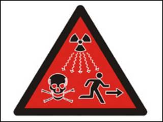 विकिरण का प्रतीक