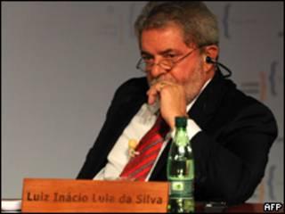 Lula durante reunião em Viña del Mar