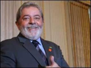 O presidente Lulz Inácio Lula da Silva em Londres, nesta quinta-feira (foto: Ricardo Stuckert/PR)