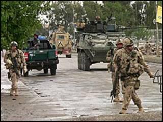 НАТО қўшинлари