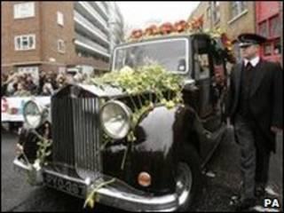 Cortejo fúnebre Jade Goody
