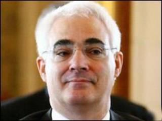 Bộ trưởng tài chính Anh Alistair Darling