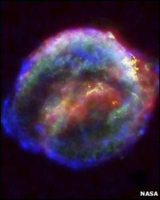 Supernova. Foto: Nasa.