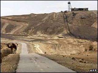 Frontera entre Egipto y la Franja de Gaza