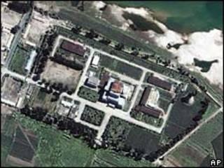 O reator nuclear de Yongbyon (foto de arquivo)