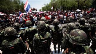 Người biểu tình Thái khiến hội nghị thượng đỉnh Asean phải bị hủy