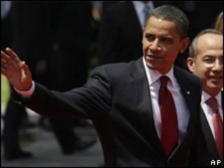 Obama en México