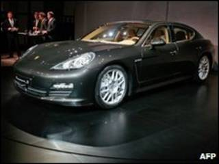 Nuevo modelo de Porsche en Shanghai