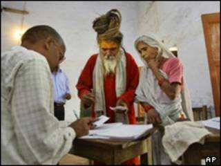 رای دهندگان هندی