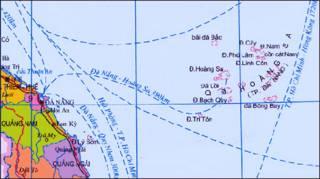Bản đồ Hoàng Sa