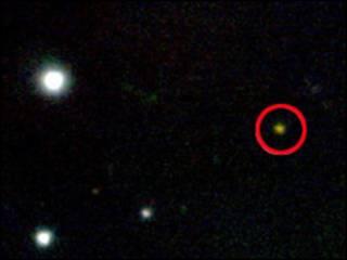 عکس رصدخانه ژمنای از جی آر بی 090423