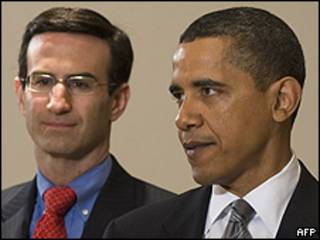 Peter Orszag y Barack Obama