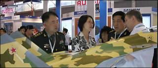 Gian hàng của Rosobronoexport tại một phiên hội chợ, ảnh từ trang mạng của công ty