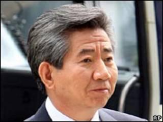 Roh Moo-hyun, ex presidente de Corea del Sur.