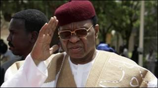 Президент Нигера Танджа Мамаду