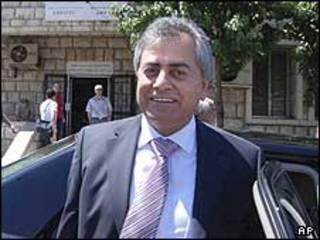 علی عبدالکریم، اولین سفیر سوریه در لبنان