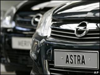 Um Astra, da Opel (arquivo)