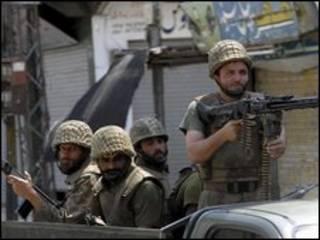 Soldados do Paquistão