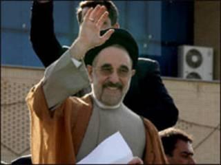 محمد خاتمی- عکس از مهر