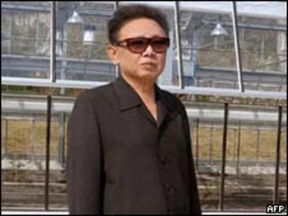 O líder norte-coreano, Kim Jong-Il