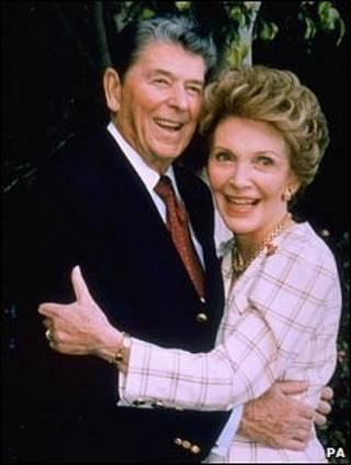 Ronald y Nancy Reagan, en una foto de archivo.