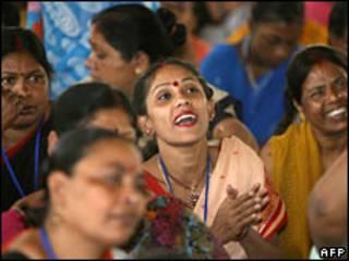 Prostitutas de Calcutá (arquivo)