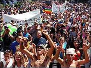 Marcha gay em Tel Aviv no passado (arquivo)