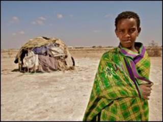 کودکی در کنیا