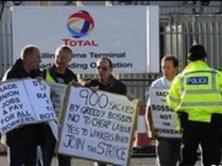 اعتصاب در پالایشگاه لیندسی