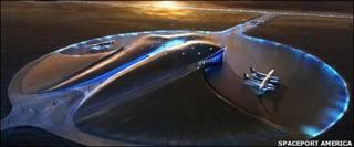 Diseño del puerto espacial Spaceport America