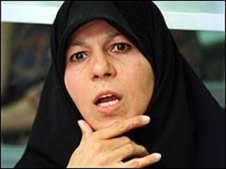 فائزه هاشمی، دختر اکبر هاشمی رفسنجانی