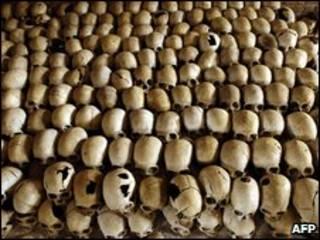 Mavuvu ya watu waliouawa nchini Rwanda