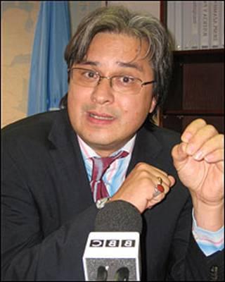 Christian Salazar, director de la Oficina del Alto Comisionado de las Naciones Unidas para los Derechos Humanos en Colombia