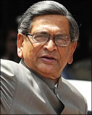 एस एम कृष्णा, भारतीय विदेश मंत्री