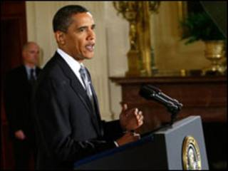 अमरीकी राष्ट्रपति बराक ओबामा