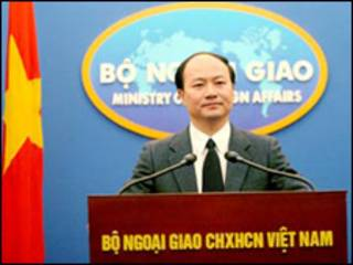 Phát ngôn nhân bộ Ngoại giao Việt Nam, ông Lê Dũng