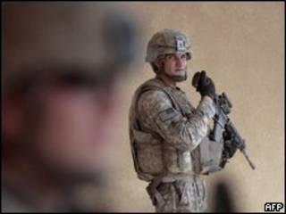 Soldados americanos no Iraque