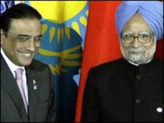 मनमोहन सिंह और आसिफ़ अली ज़रदारी