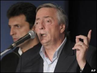 Néstor Kirchner, ex presidente de Argentina
