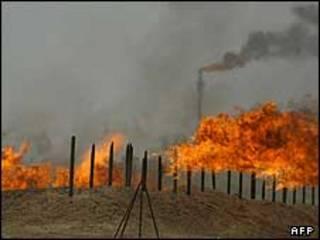 یک میدان نفتی در عراق