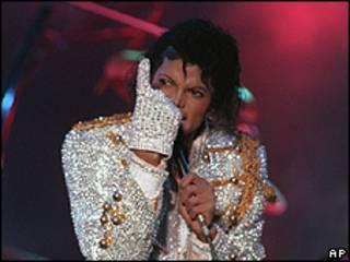 Michael Jackson en concierto / Foto de archivo